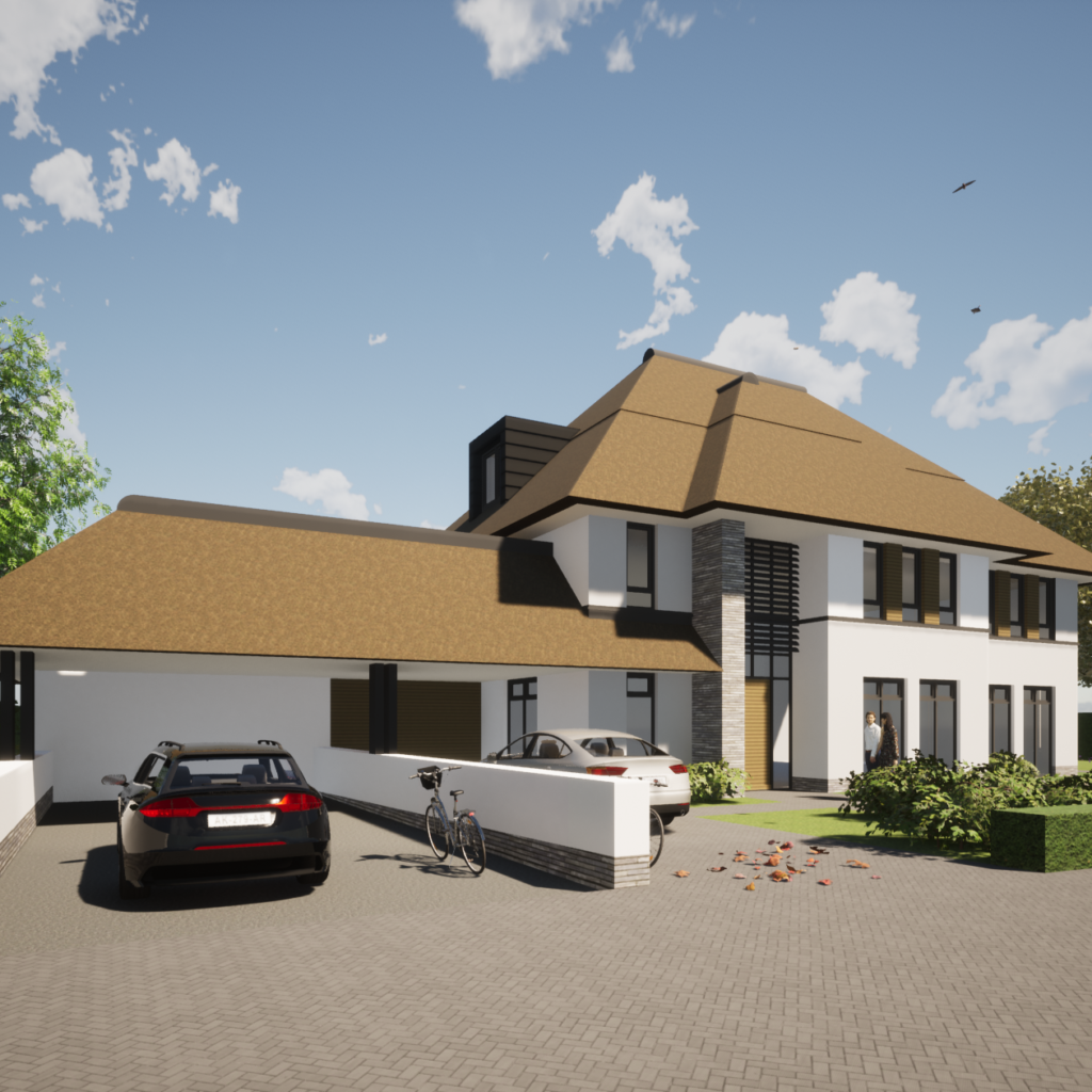 riet villa modern nieuwbouw