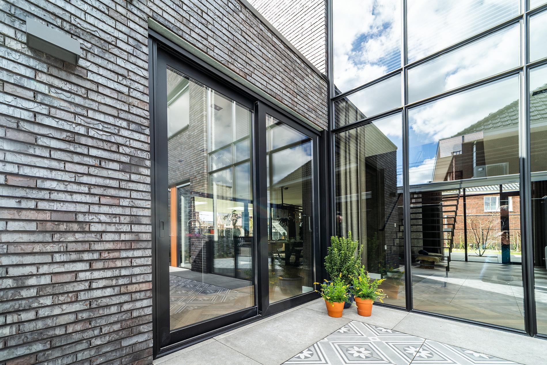 nieuwbouw villa kubistisch modern