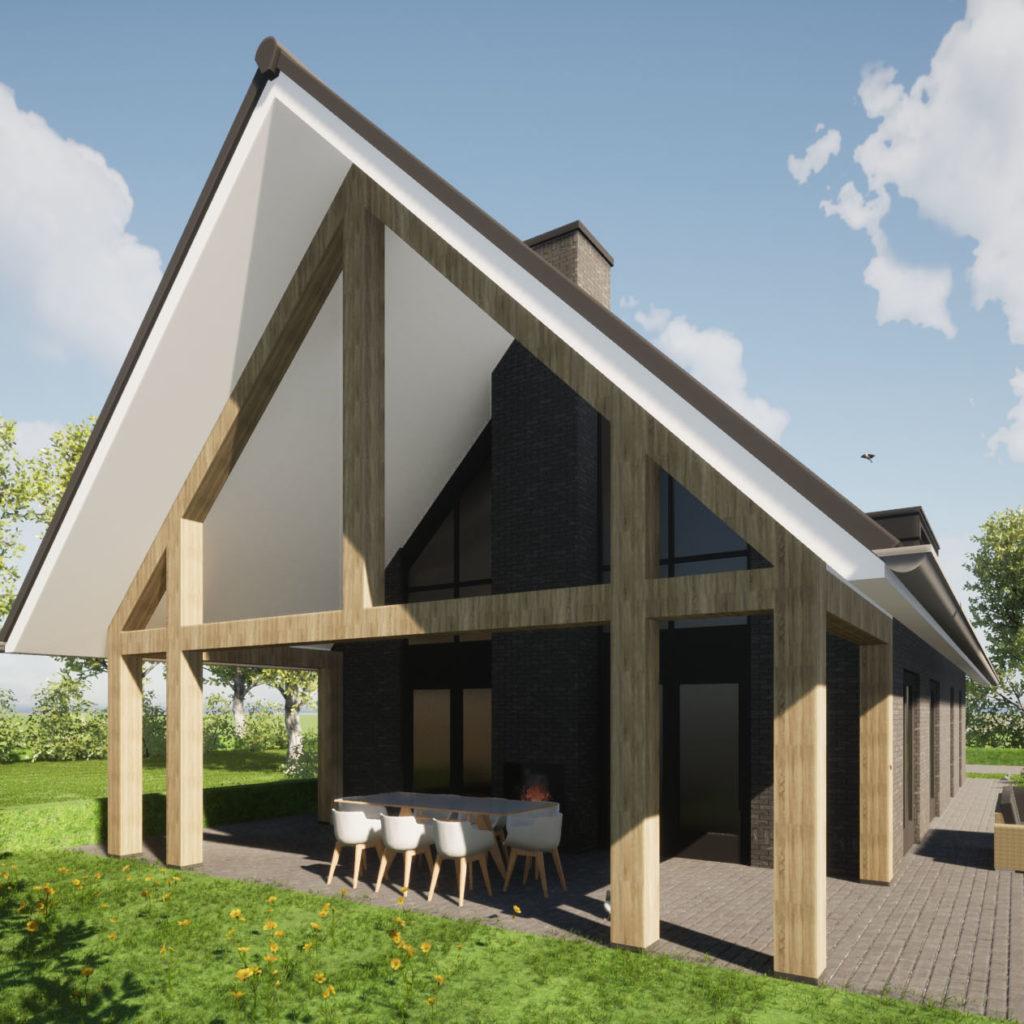nieuwbouw schuurwoning modern