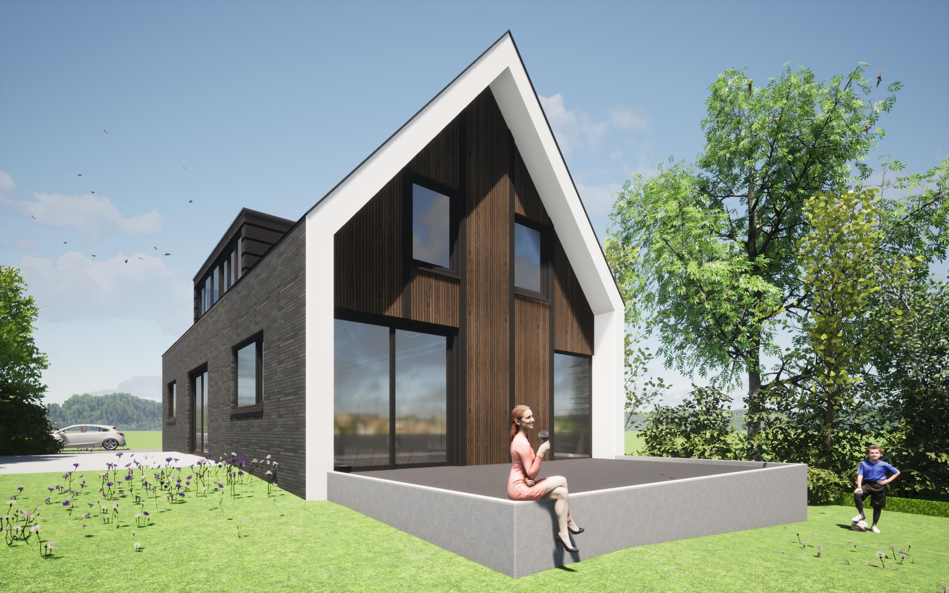 schuurwoning modern architectuur ontwerp 3