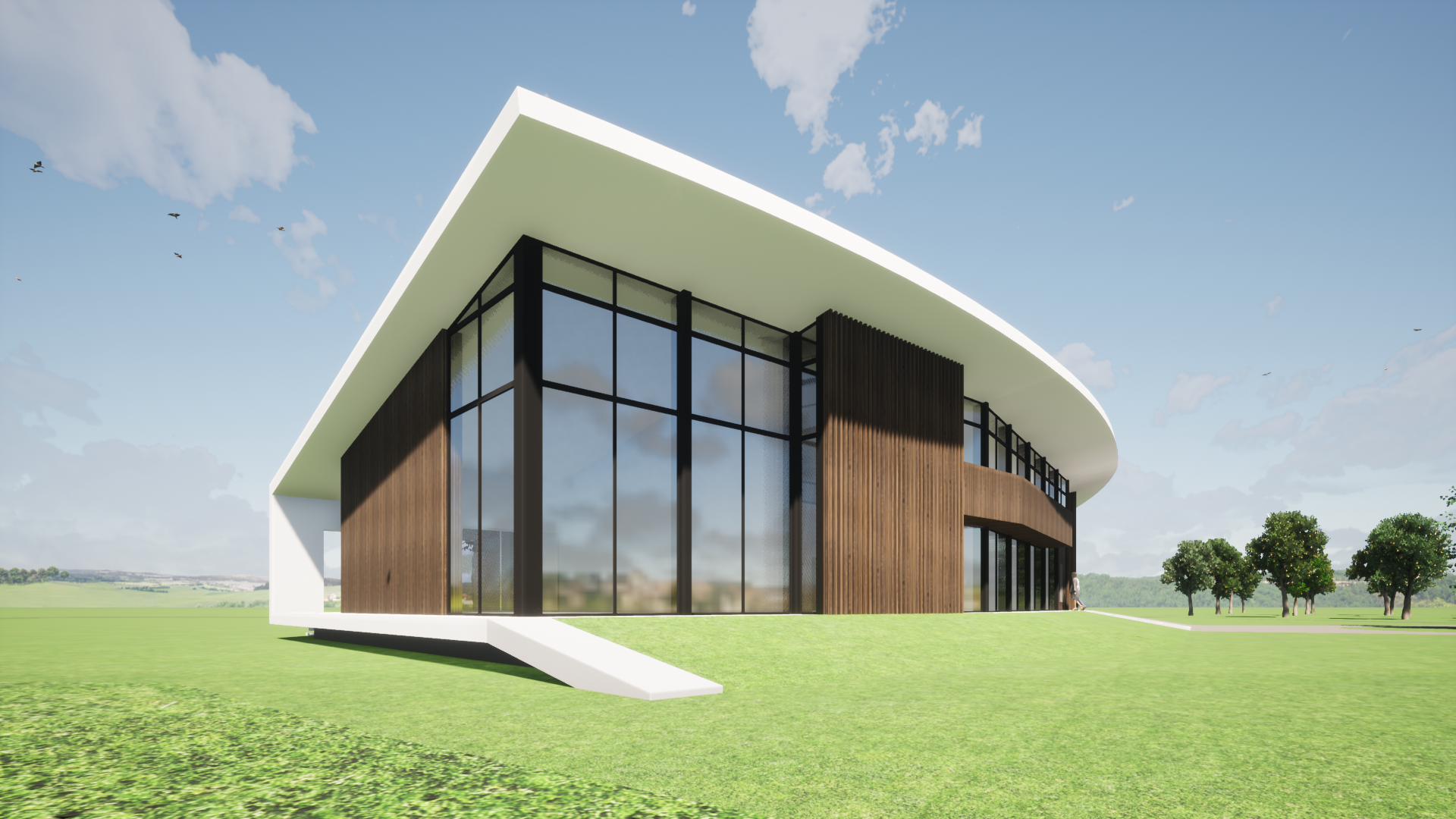 modern landhuis nieuwbouw 1
