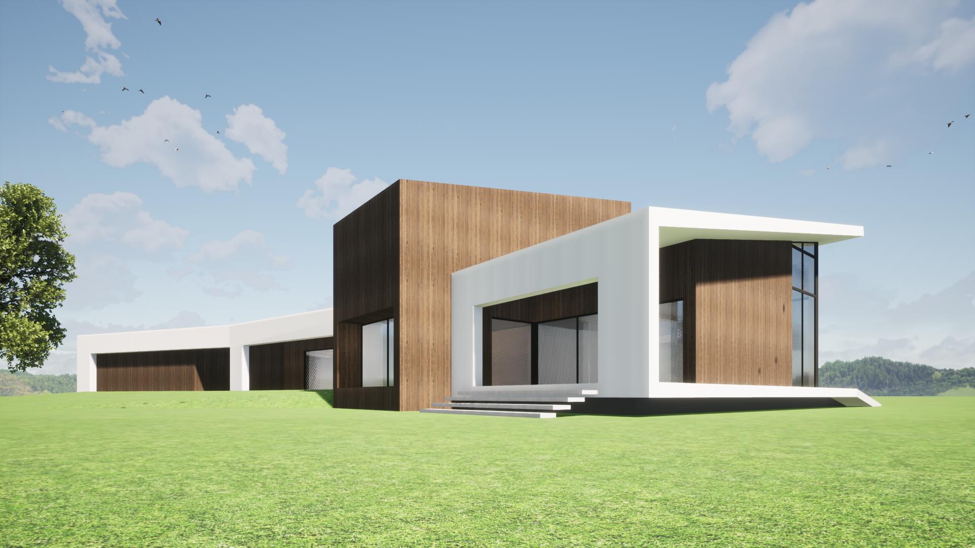modern landhuis nieuwbouw 2